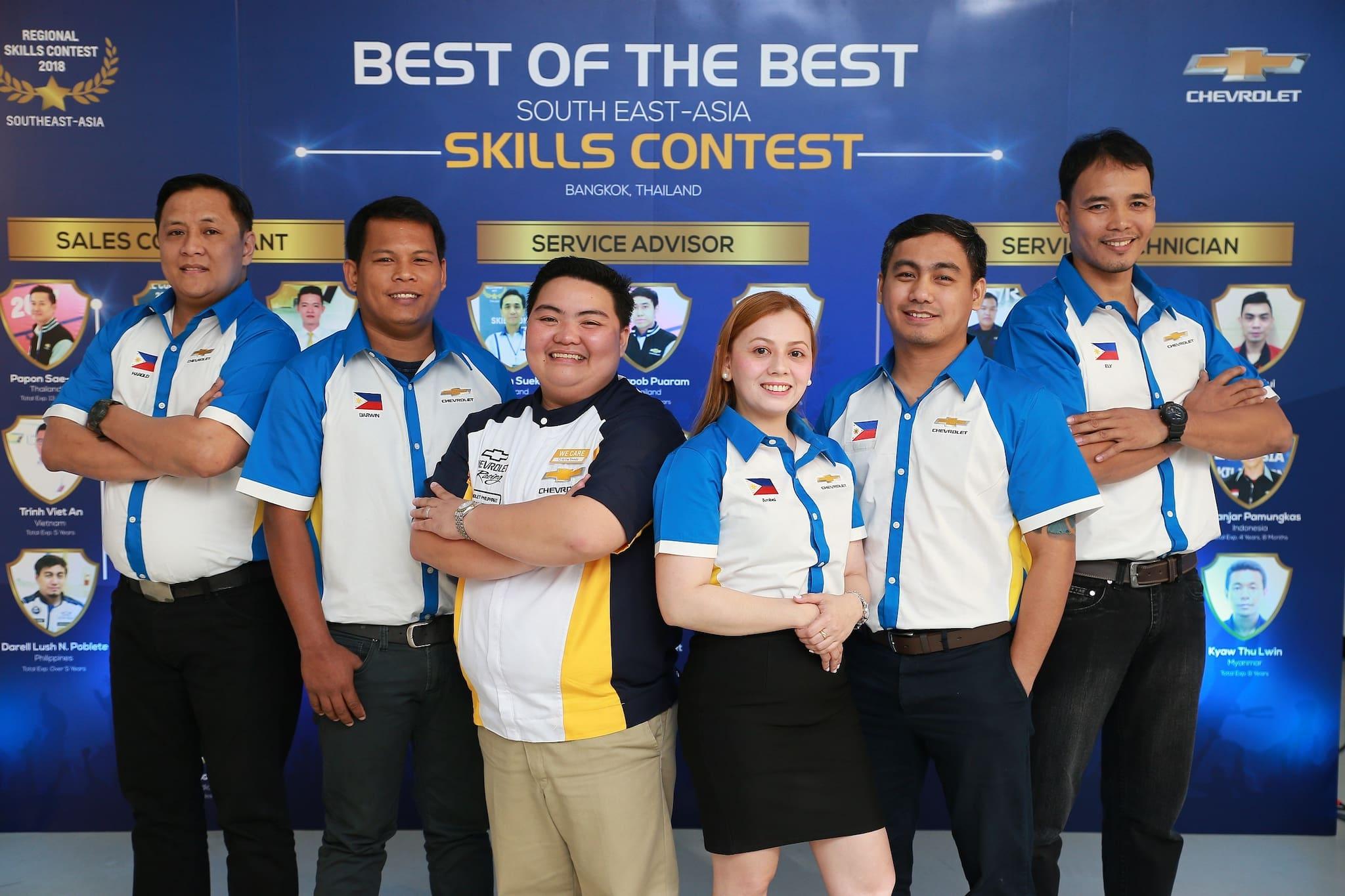 Chevrolet PH Service Advisor Named 'Best of the Best'