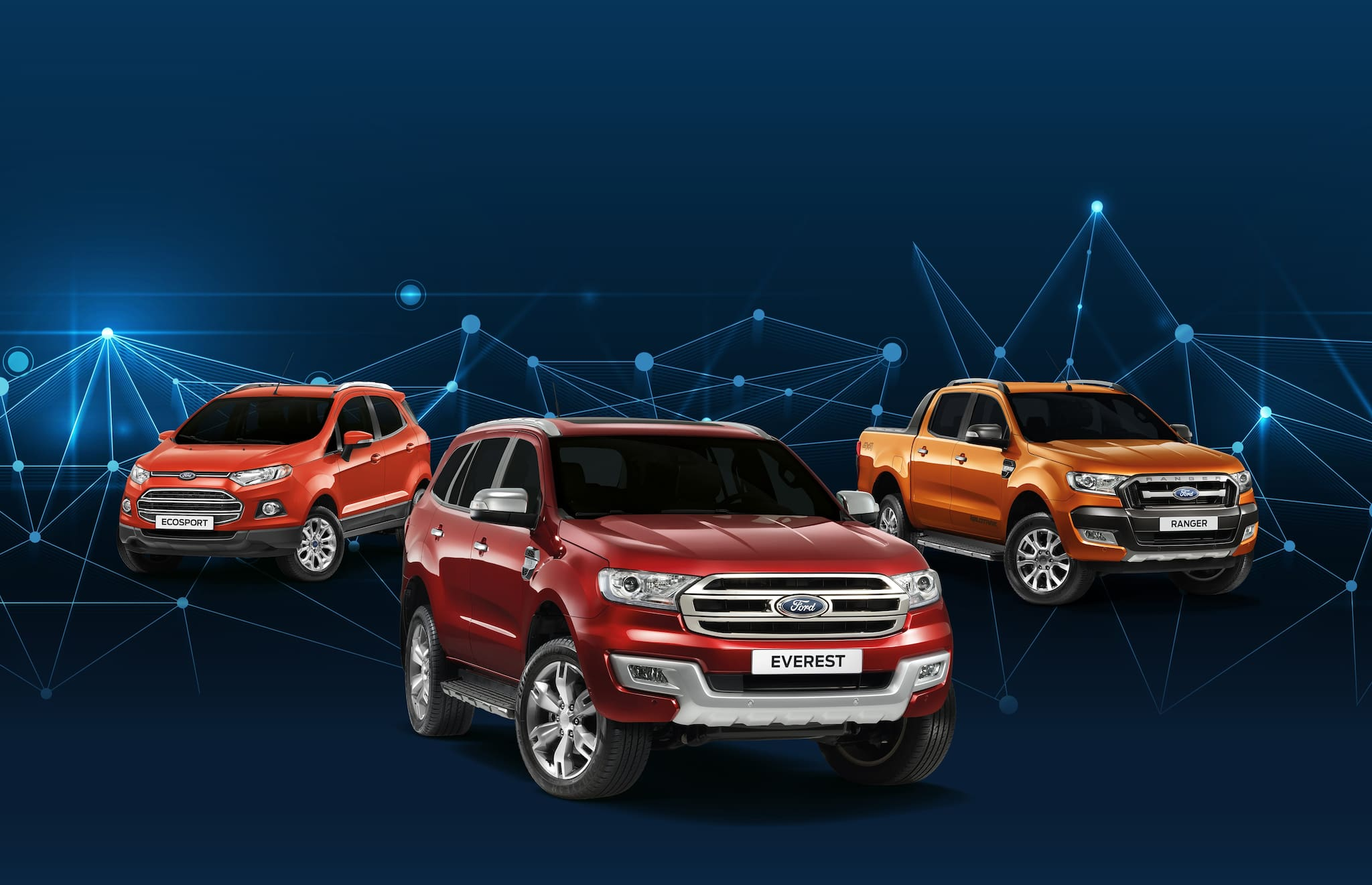 Ford PH Offers Free First Month Amortization for Everest, Ranger, and EcoSport