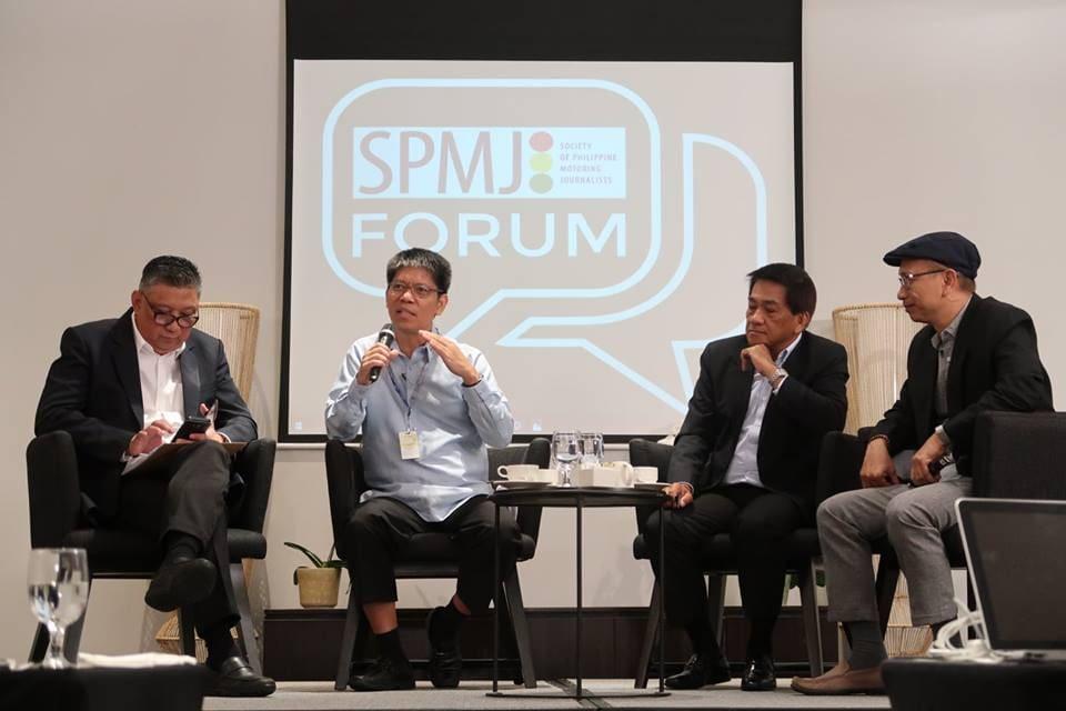 LTFRB Chair Martin Delgra Talks About PUV Modernization Program in 1st SPMJ Forum
