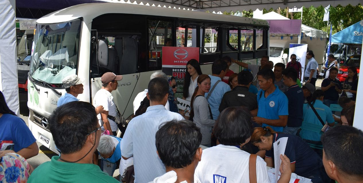 Hino's Vehicle Body Building Expertise Fully Showcased in Its Modern Jeepneys