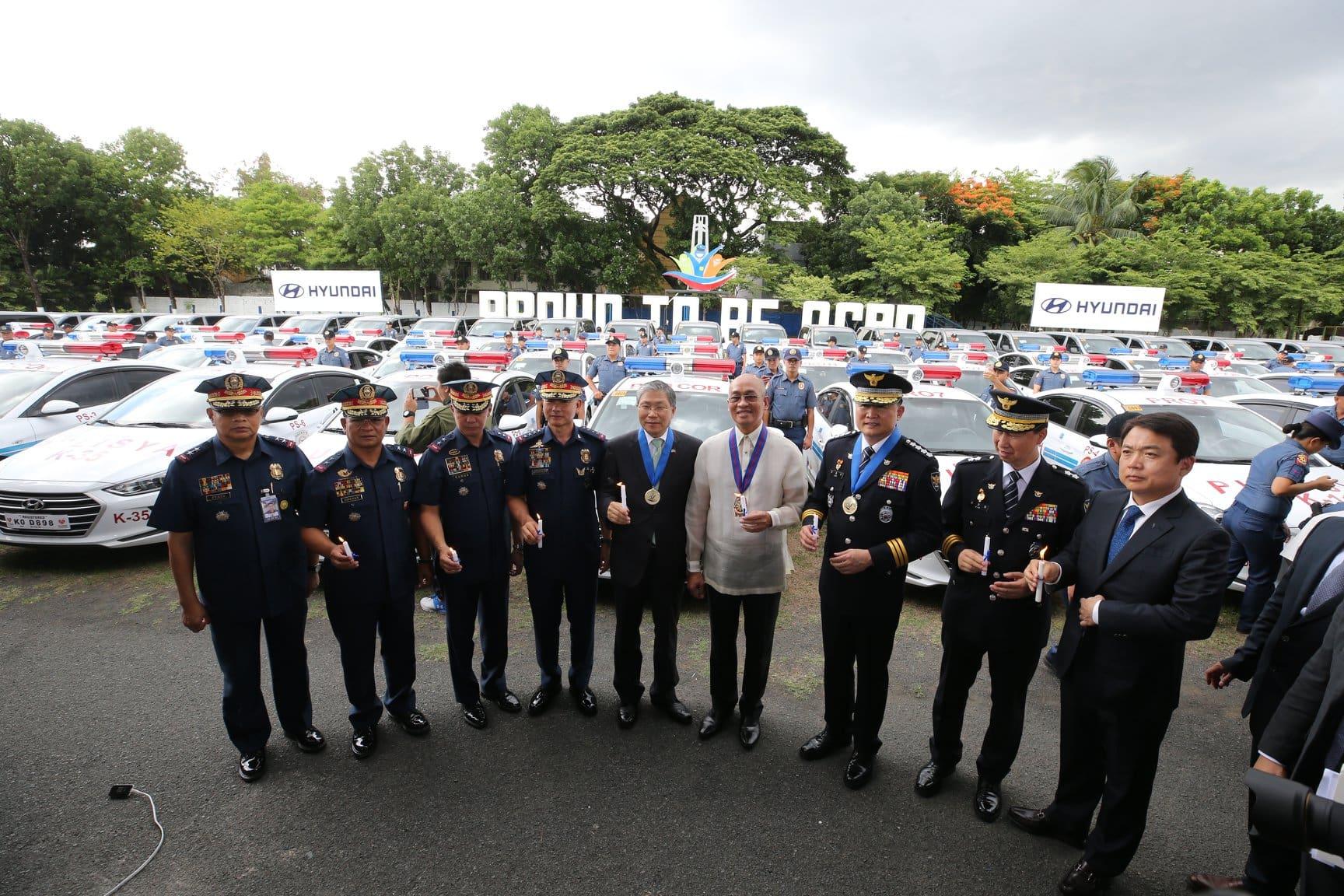 PNP Will Soon Use Hyundai Cars to Patrol the Streets