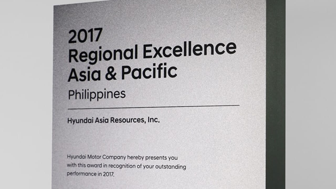Hyundai PH Scores Grand Slam in Sales, Service Excellence in Asia-Pacific