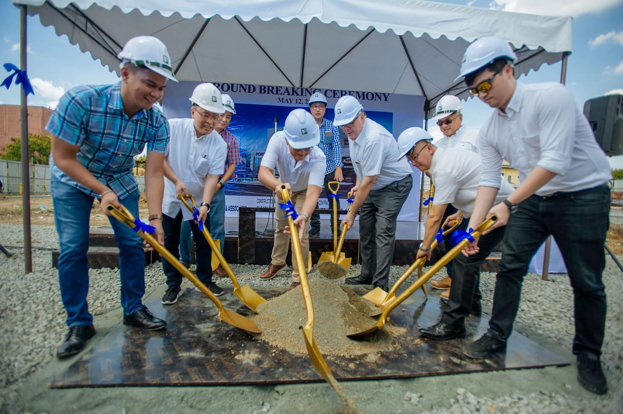 Ford Breaks Ground for New Dealership Facility in Marikina