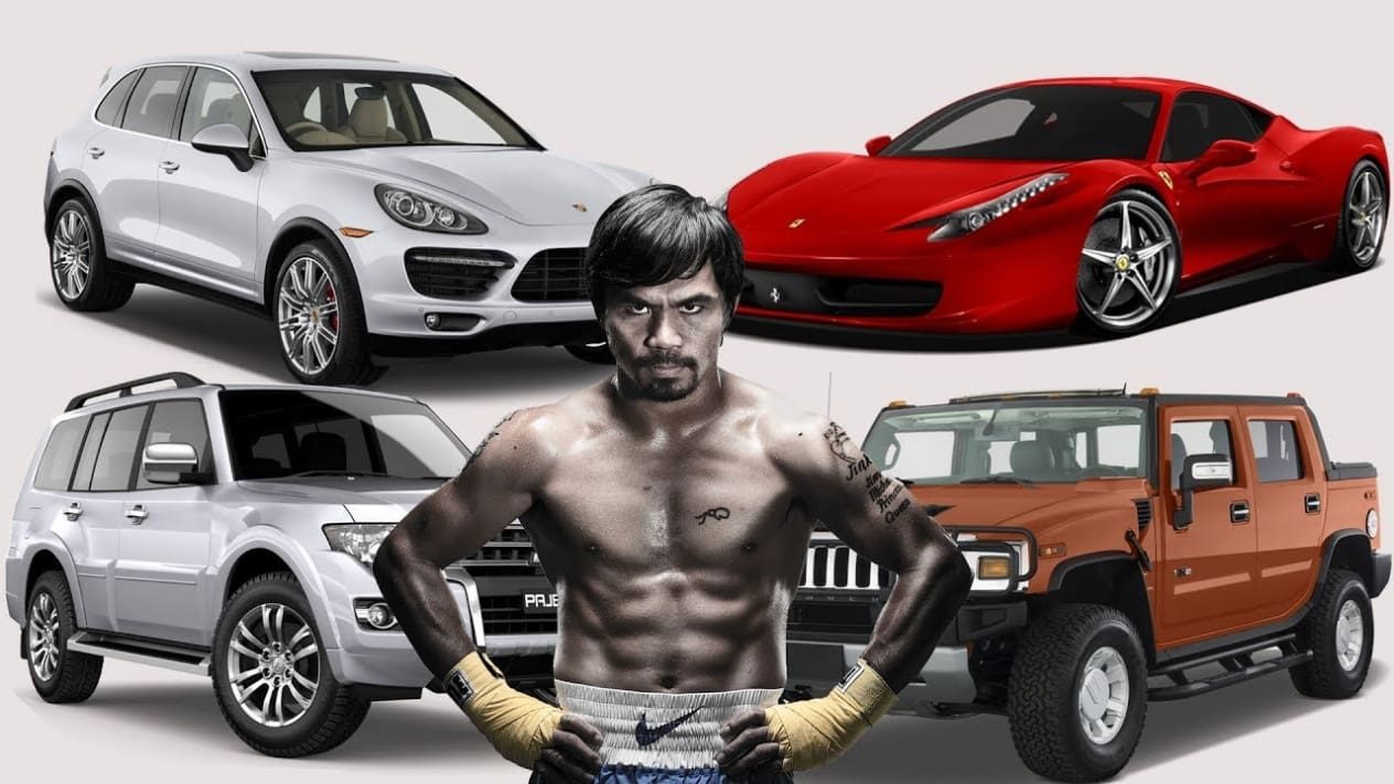 Here is Manny Pacquiao's Vehicle Collection