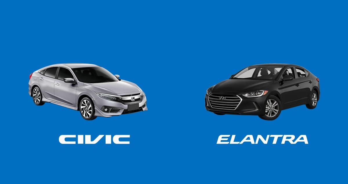 CAR COMPARISON: Hyundai Elantra 2.0 GLS vs. Honda Civic 1.8 E