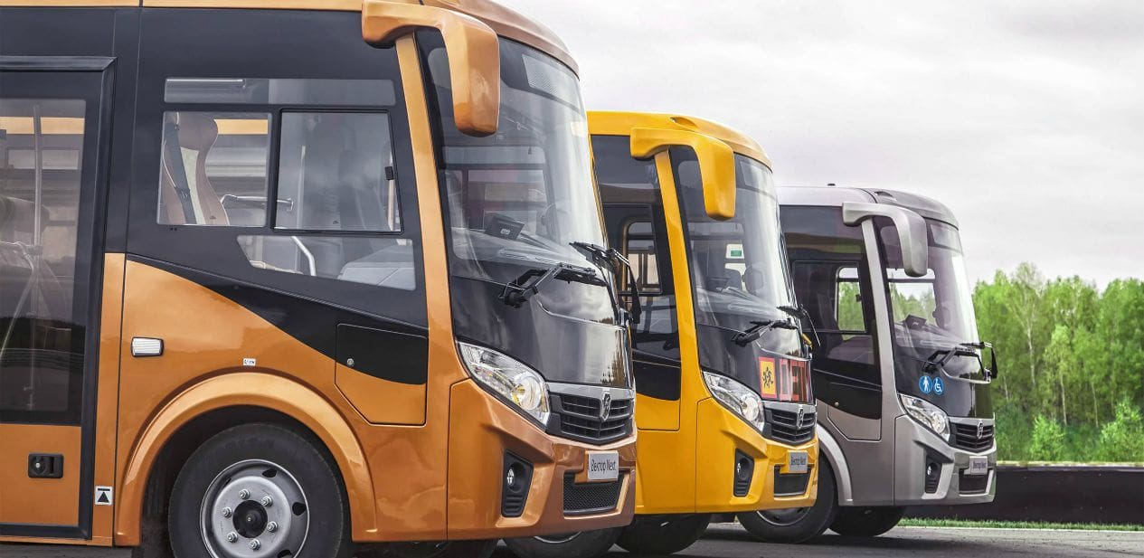 GAZ: Three New Types of Vector NEXT Buses to Go On Sale Soon