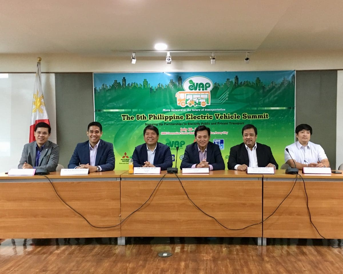 6th PH Electric Vehicle Summit to be Held Next Month