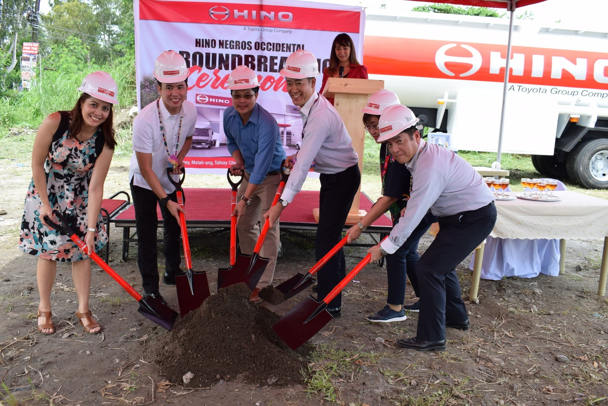 Hino Breaks Ground for its First Negros Occidental Dealership