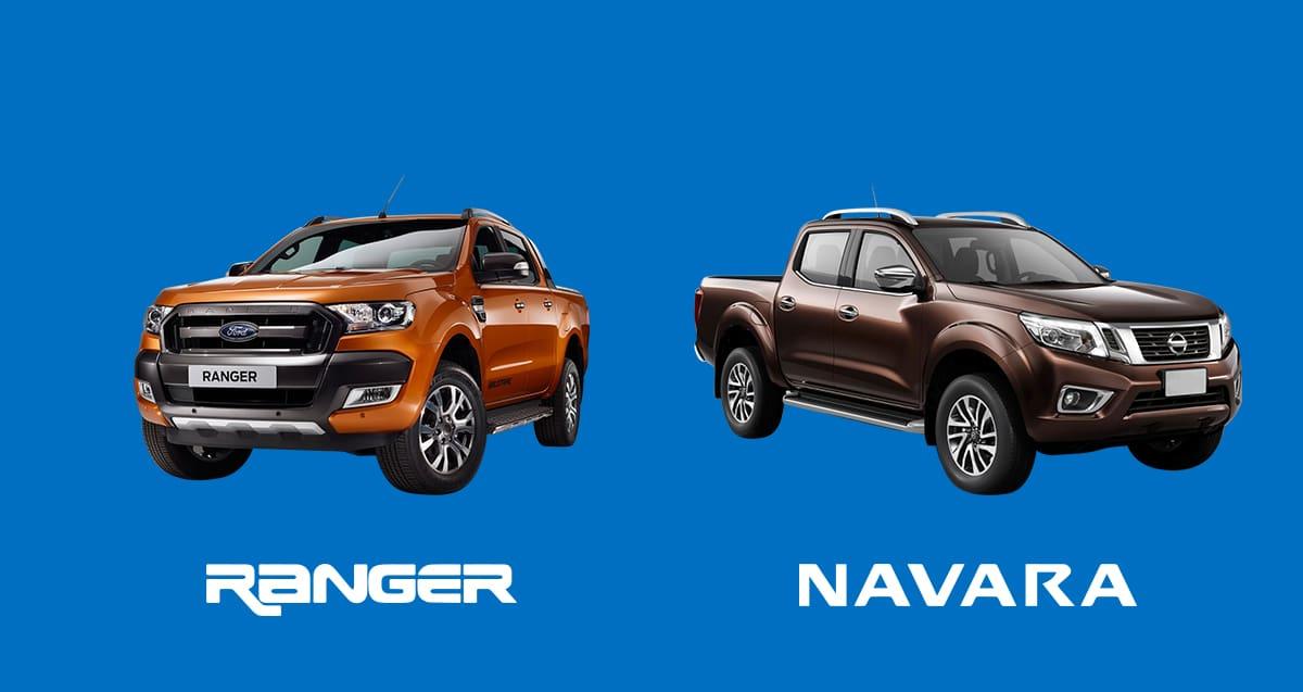 CAR COMPARISON: Ford Ranger 3.2L Wildtrak 4x4 AT vs. Nissan Navara 2.5L VL AT