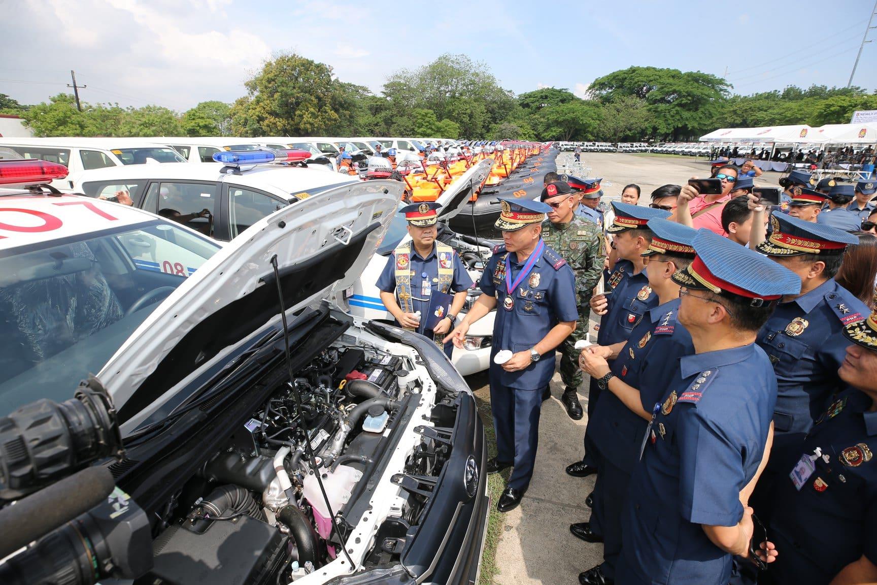 PNP Acquires New Toyota Innovas, Hiaces, Hilux Trucks