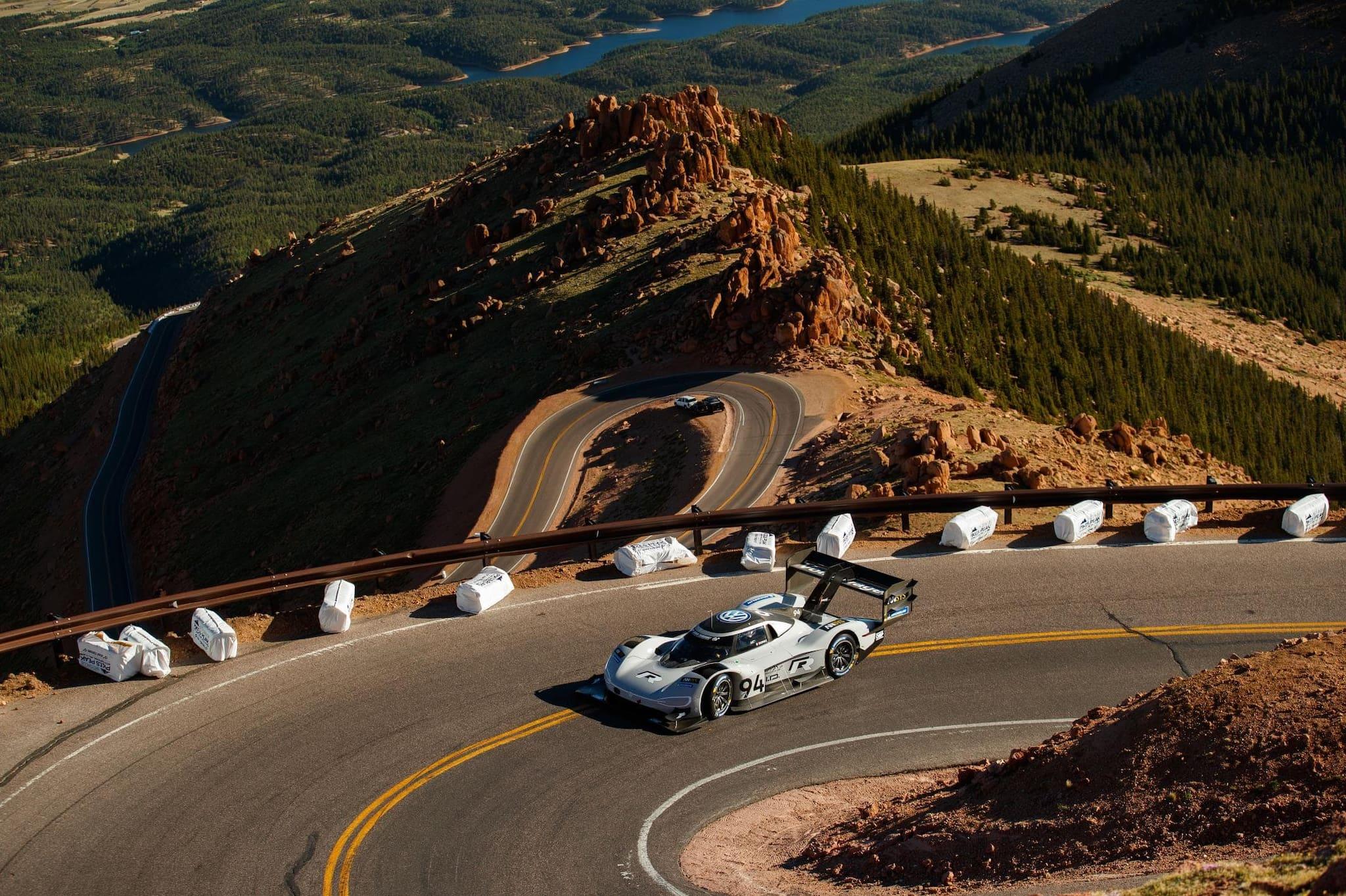 Volkswagen EV Breaks Pikes Peak Hill Climb Record
