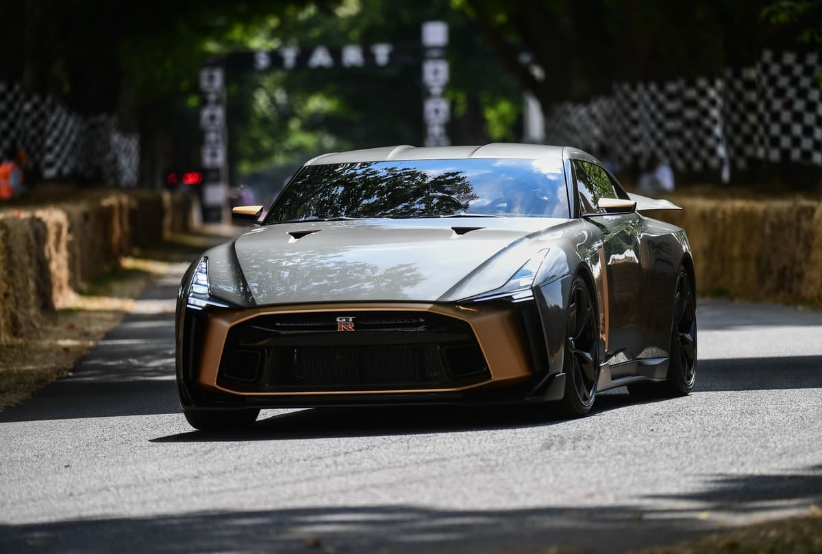 WATCH: Nissan GT-R50 by Italdesign Debuts at Goodwood Festival of Speed
