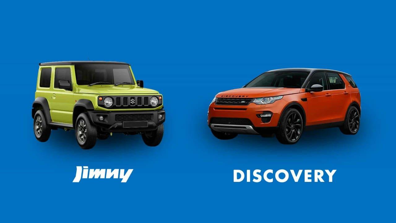 CAR COMPARISON: Land Rover Discovery Sport 2.0L Si4 S vs. Suzuki Jimny 4x4