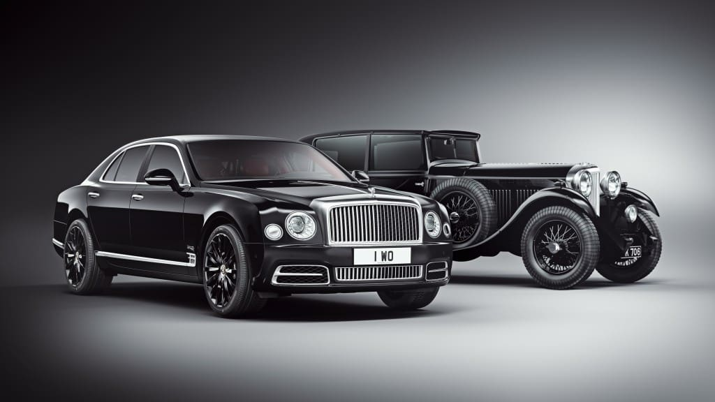 """Bentley Celebrates its 100th Year with the """"Extremely Rare"""" Centenary Edition Mulsanne"""
