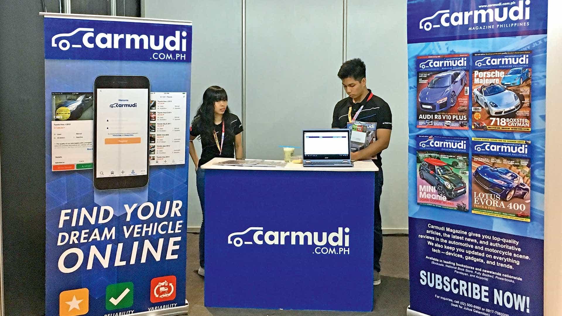 CARMUDI PH joins 26th TRANS SPORT SHOW