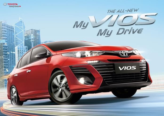Check Out the All-New Toyota Vios and its Prices