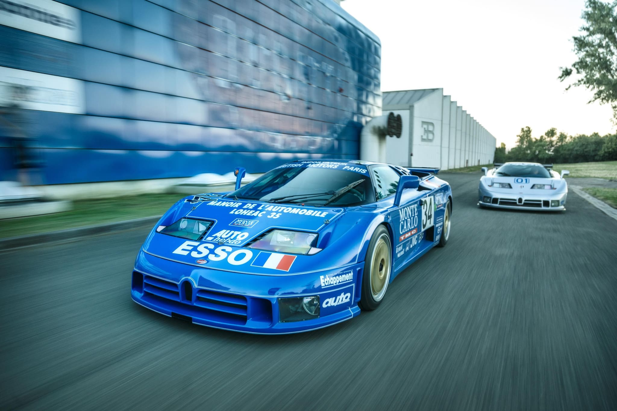 WATCH: The Story of Bugatti's Two EB 110 Race Cars
