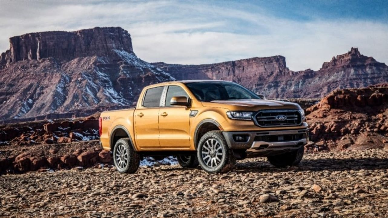 2019 Ford Ranger's Newest Towing Technology Enhances Driver Safety