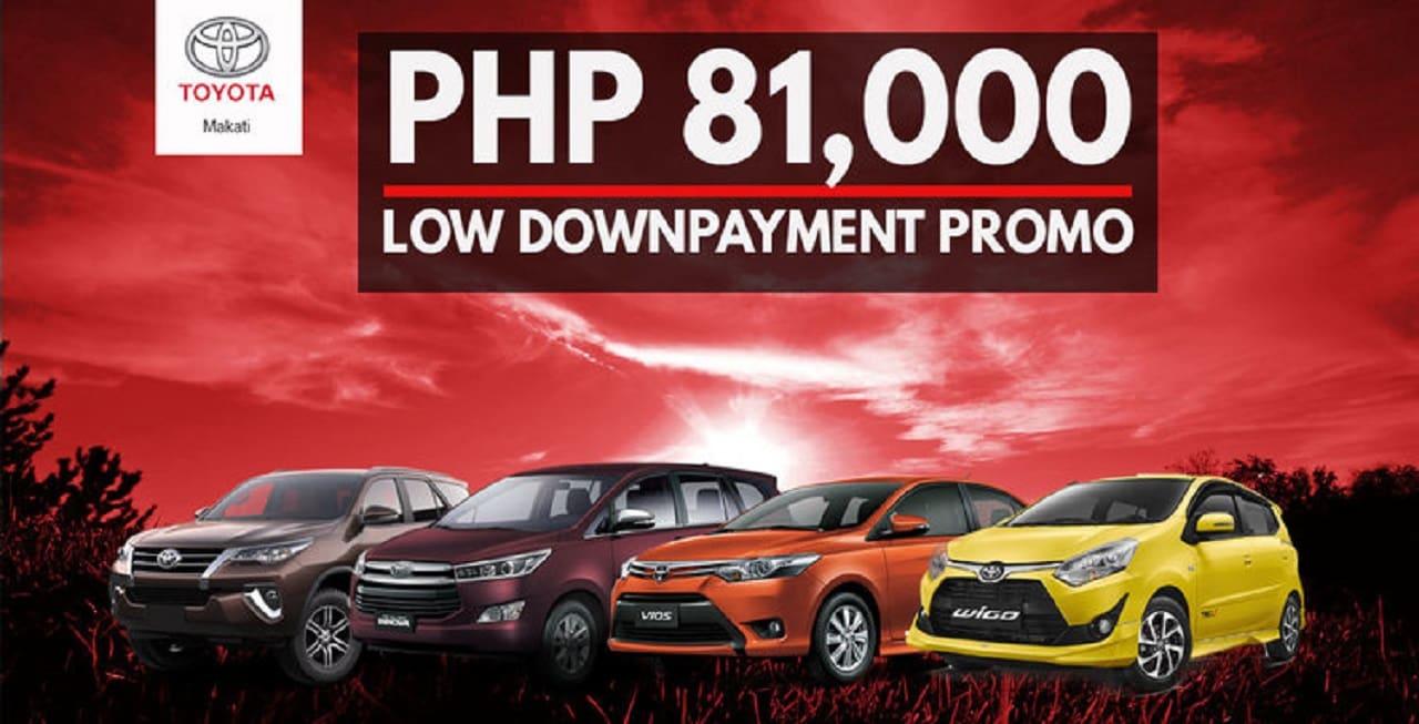Snag a Brand New Toyota Wigo For a Low P81,000 Down Payment!