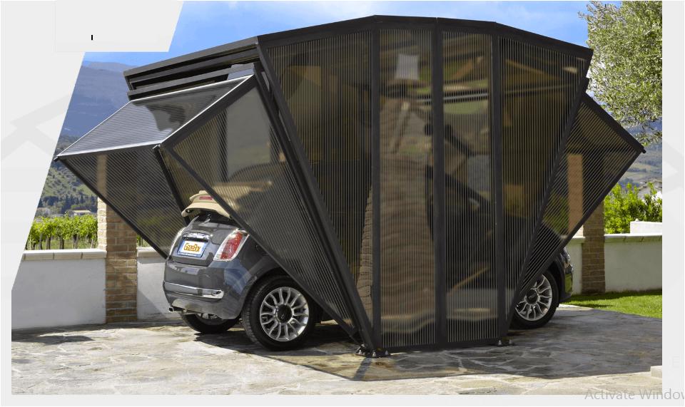 Aftermarket Gazebox Offers A Foldable Garage Carport Gazebo And Storage Space In One