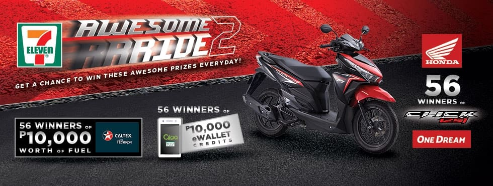 Beat the Traffic with 1 of 56 Brand-New Scooters in 7-Eleven's Awesome Ride 2.0 Promo