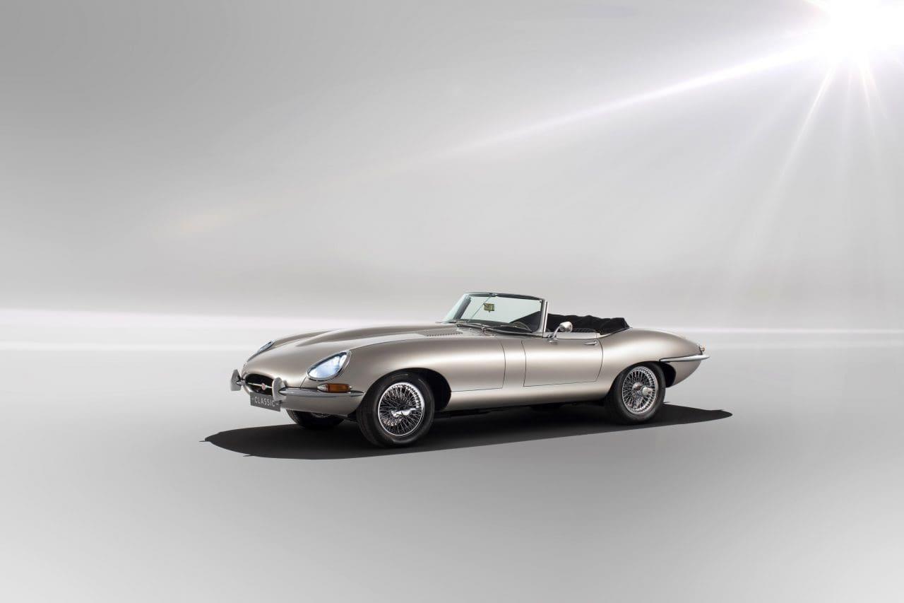 Jaguar Confirms Production of All-Electric E-Type