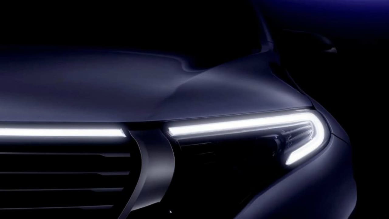 Mercedes-Benz's First EQ Electric Model is a Crossover
