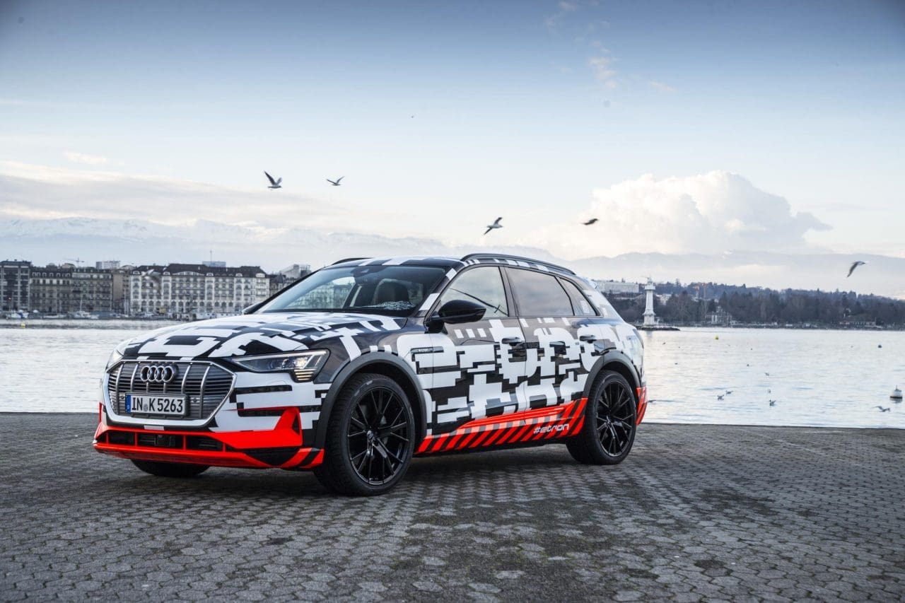 Audi E-Tron Electric SUV Gets Production Green Light