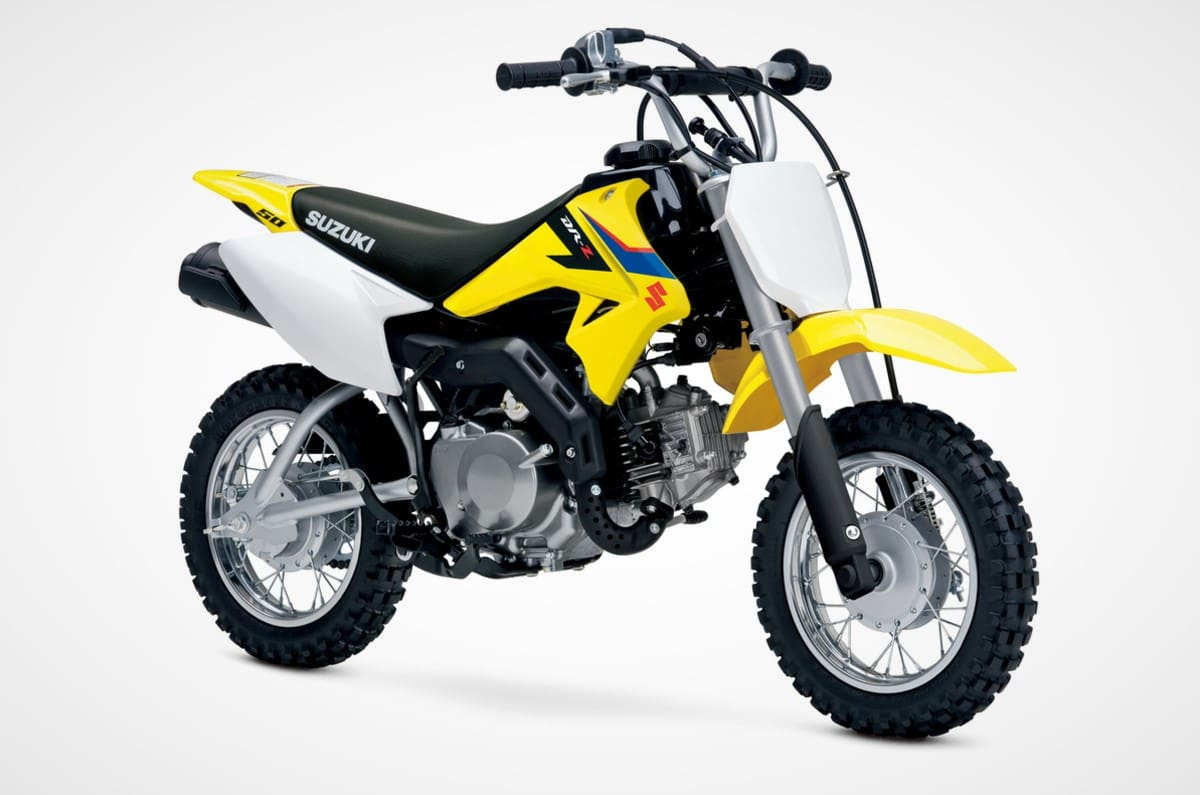 Suzuki DR-Z50 Junior Dirt Bike Wants to Tap Potential of Young Riders