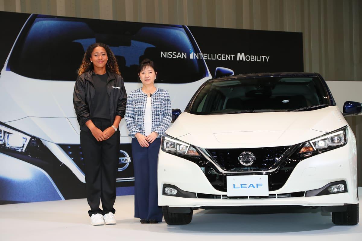 Tennis Grand Slam Champ Naomi Osaka is Nissan's New Brand Ambassador