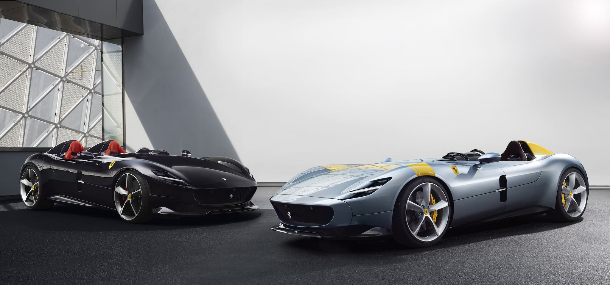Ferrari Monza SP1 and SP2--First Models in New Concept, Limited-Edition Special 'Icona' Series