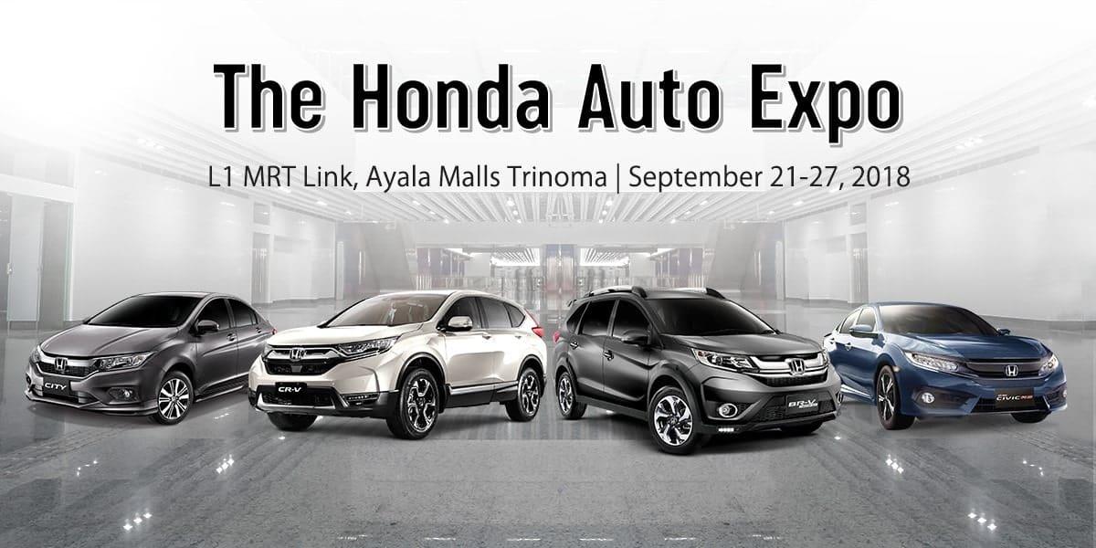 Catch the Honda Auto Expo at Trinoma Mall from September 21 to 27