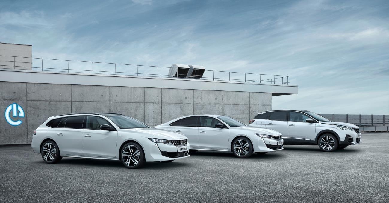 Peugeot Reveals New Plug-In Hybrid Engines