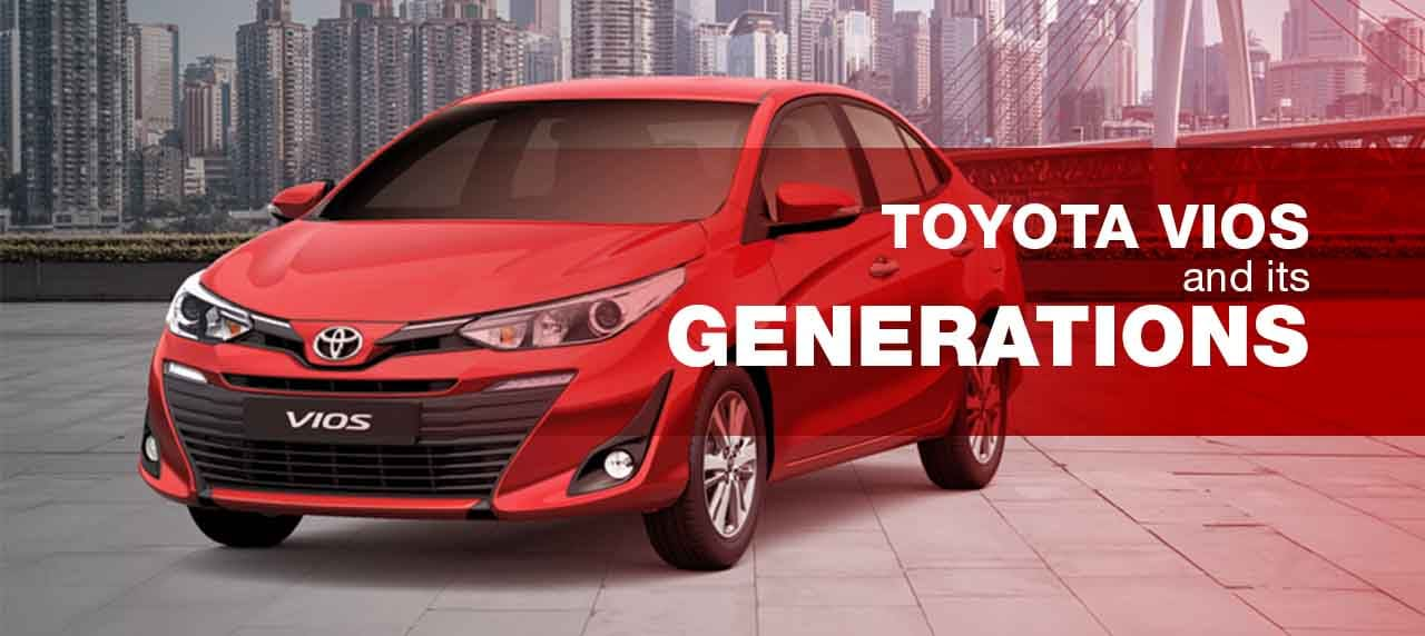 Infographic: Toyota Vios and Its Generations