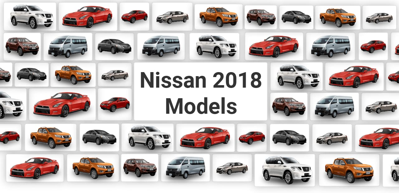 INFOGRAPHIC: Brand-New Nissan 2018 Models