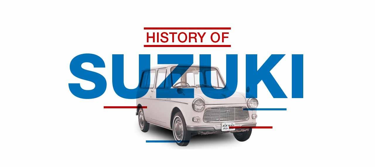 INFOGRAPHIC: History of Suzuki