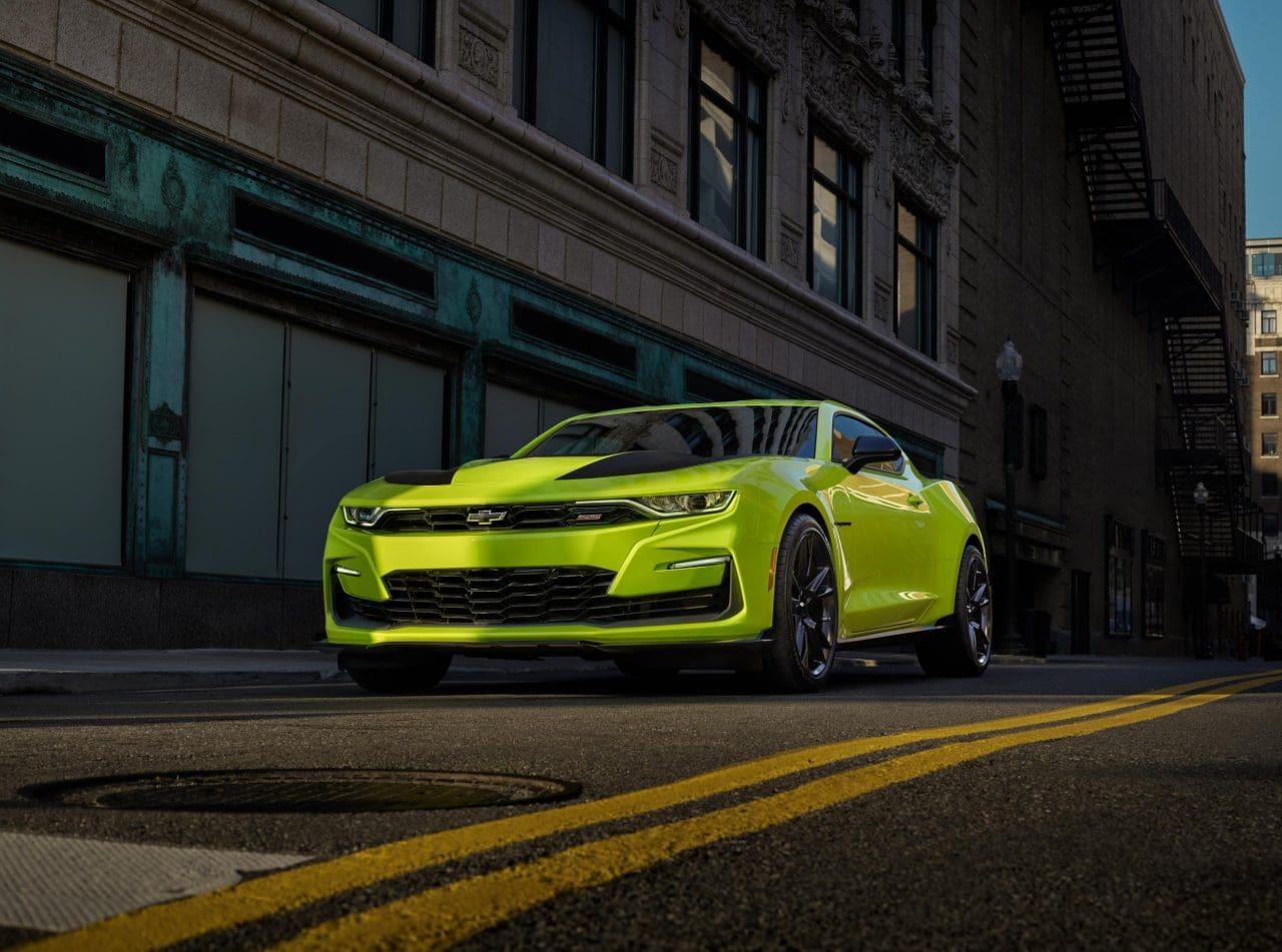 2019 Chevrolet Camaro Gets New Shock Yellow Exterior Paint