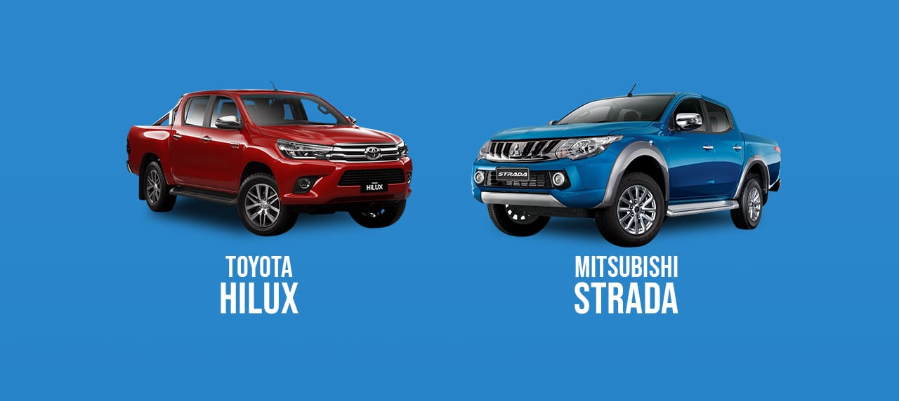 CAR COMPARISON: 2018 Toyota Hilux vs. 2018 Mitsubishi Strada