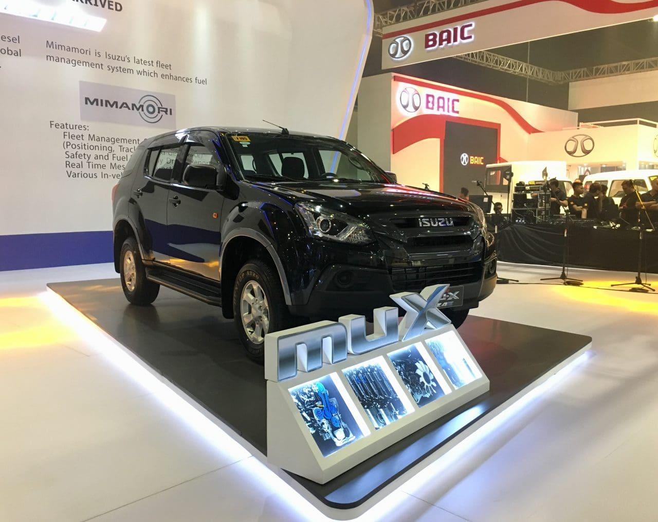 PIMS 2018: Isuzu Brings RZ4E-powered mu-X, D-Max