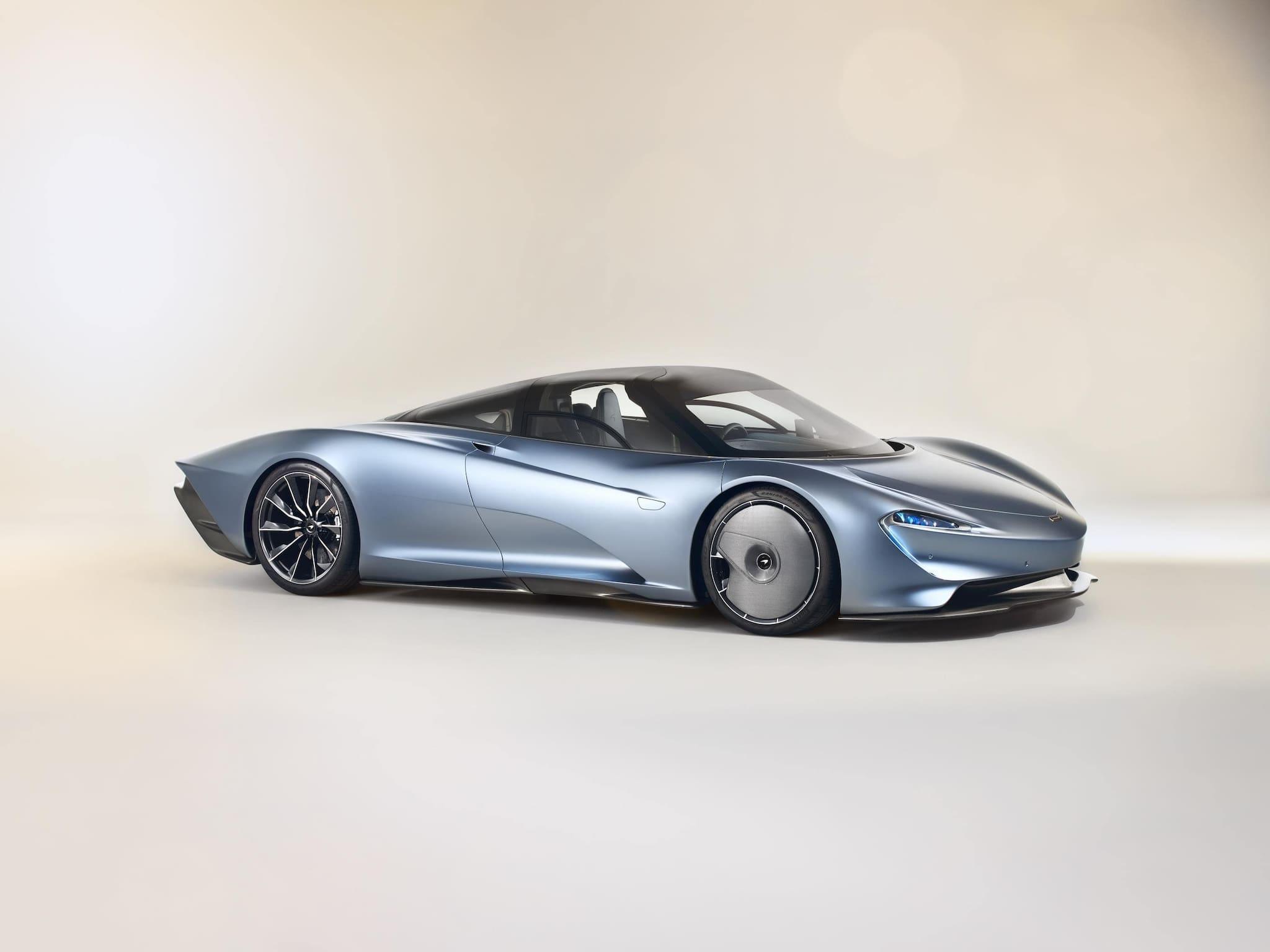 McLaren Finally Reveals First-Ever 'Hyper-GT' in McLaren Speedtail