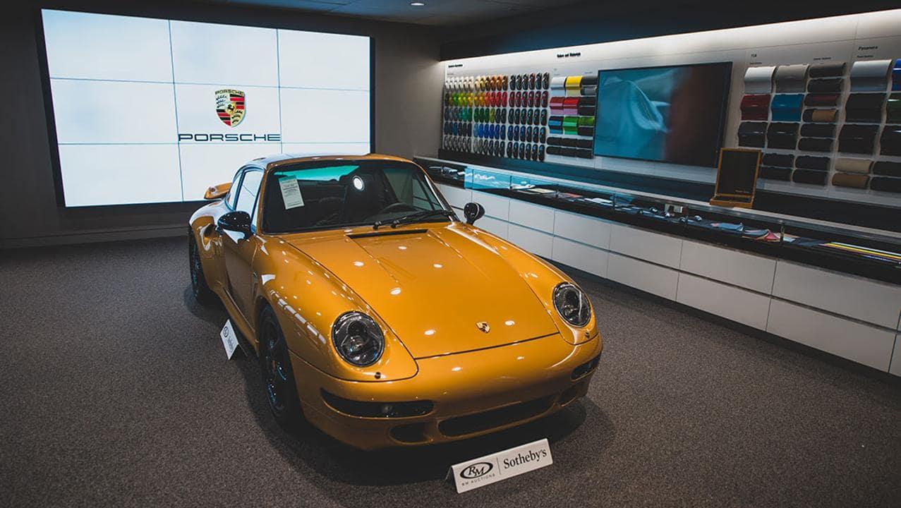 Porsche Classic's 'Project Gold' Sold for EUR2.7 Million at Auction