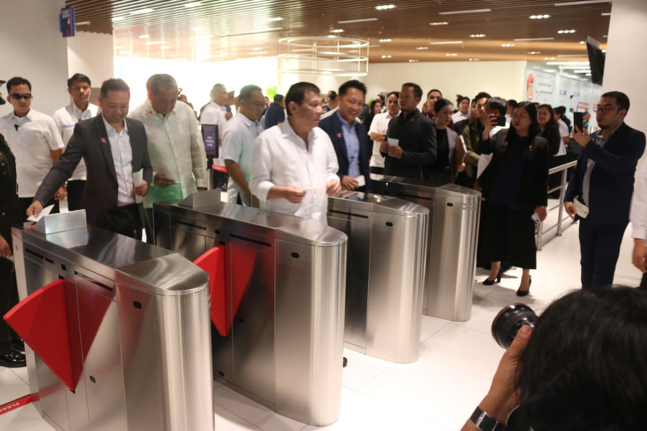 Duterte Leads PITX Inauguration