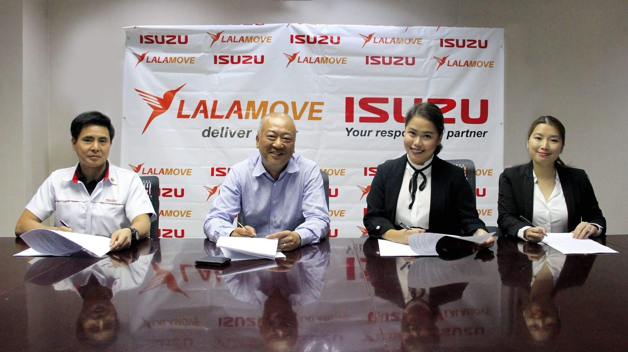 Lalamove Partners with Isuzu to Supply 4-Wheeled Vehicles that are 'Built to Deliver'