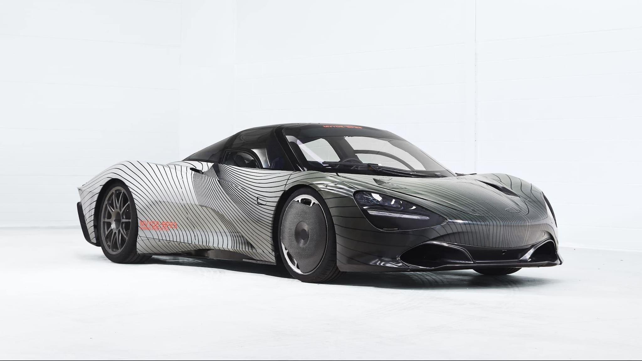 McLaren Automotive Begins Real-World Testing of McLaren Speedtail