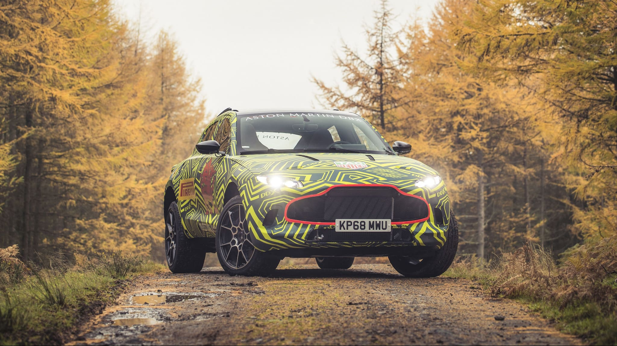 Aston Martin Begins Real-World Tests of Aston Martin DBX, Its First-Ever SUV
