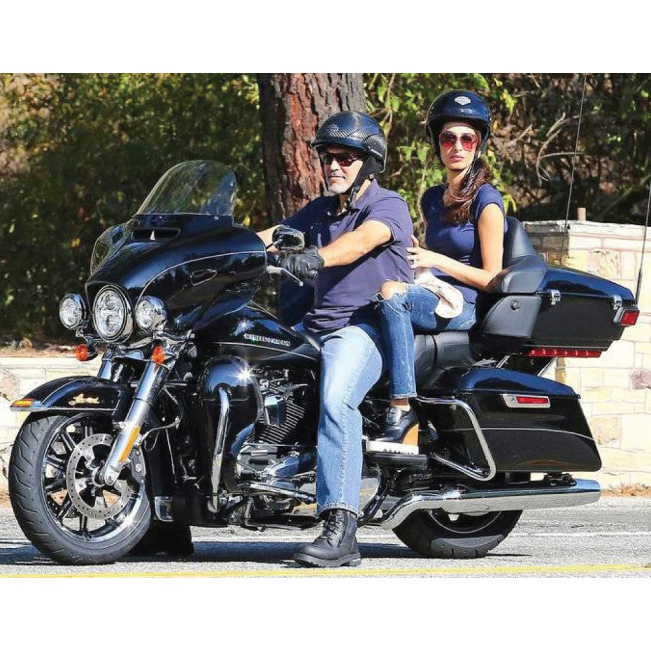 All for a Good Cause: George Clooney Donating His Harley to 911 Veterans