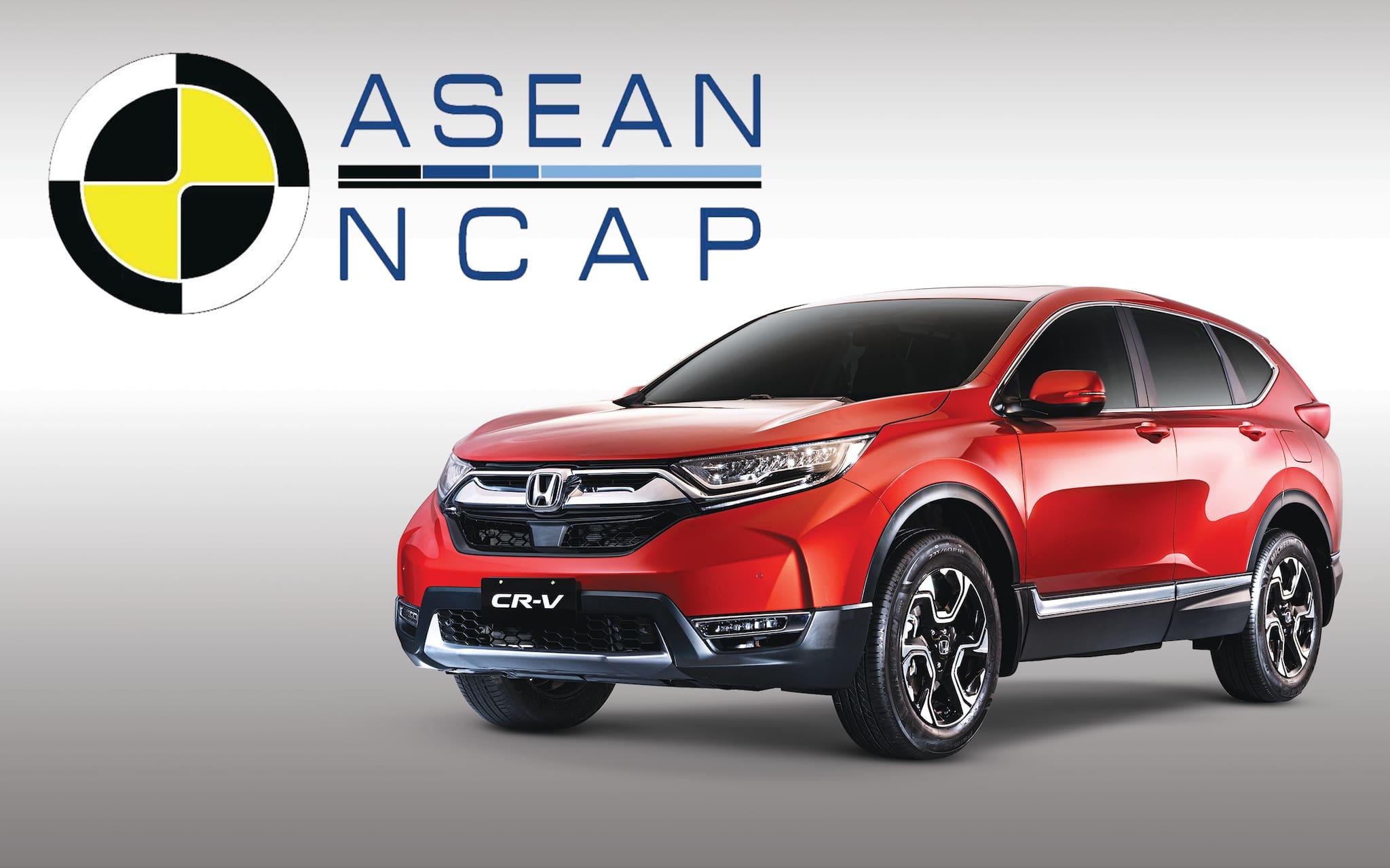 Honda CR-V Wins Two Major Awards at ASEAN NCAP Grand Prix Awards 2018