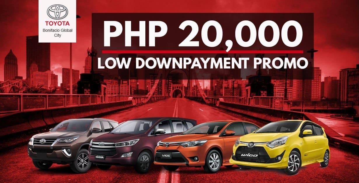 PROMO: For Just PHP20,000, a Brand-New Toyota Wigo Could Be Yours!