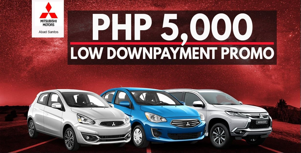 Mitsubishis Ultra-Low PHP5K Low Down Payment Promo Is Too Good to Be True!