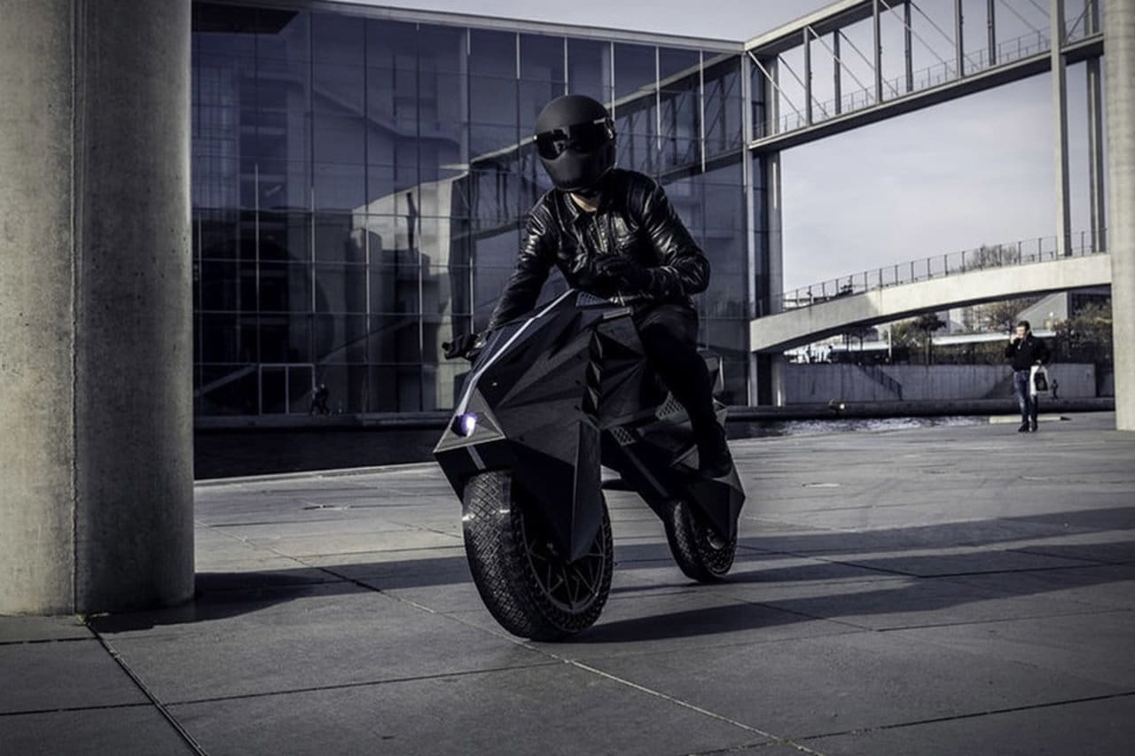 Here's the First Electric Motorcycle Printed in 3D